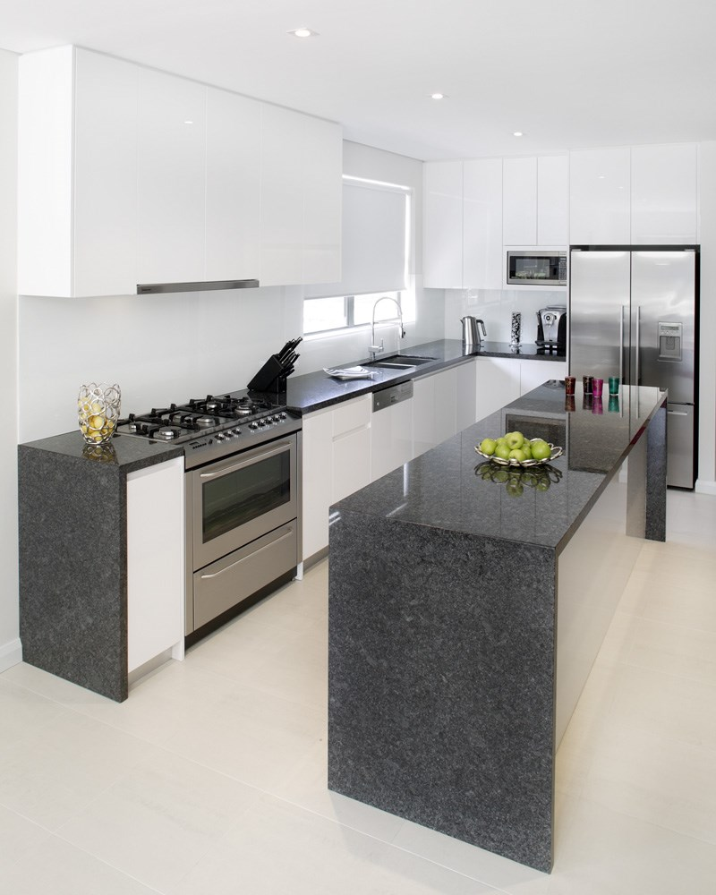 Grey Kitchen Marble: STEEL GREY > Natural Stone > Quantum Quartz, Natural Stone