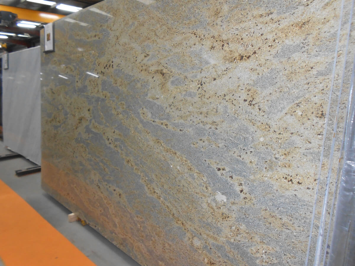 Kashmir Gold Granite Kitchen Kashmir Gold Granite Natural Stone Quantum Quartz Natural
