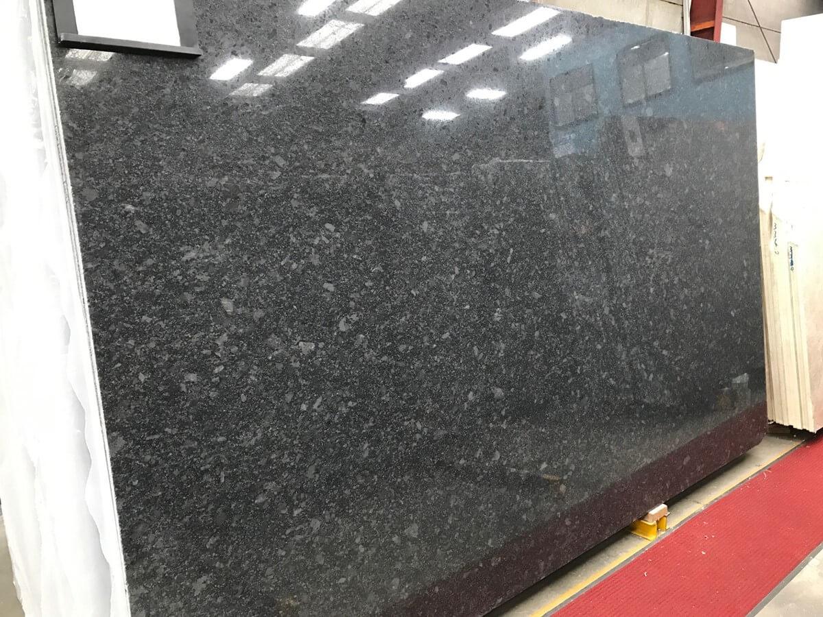 Steel Grey Polished Granite Natural Stone Quantum Quartz