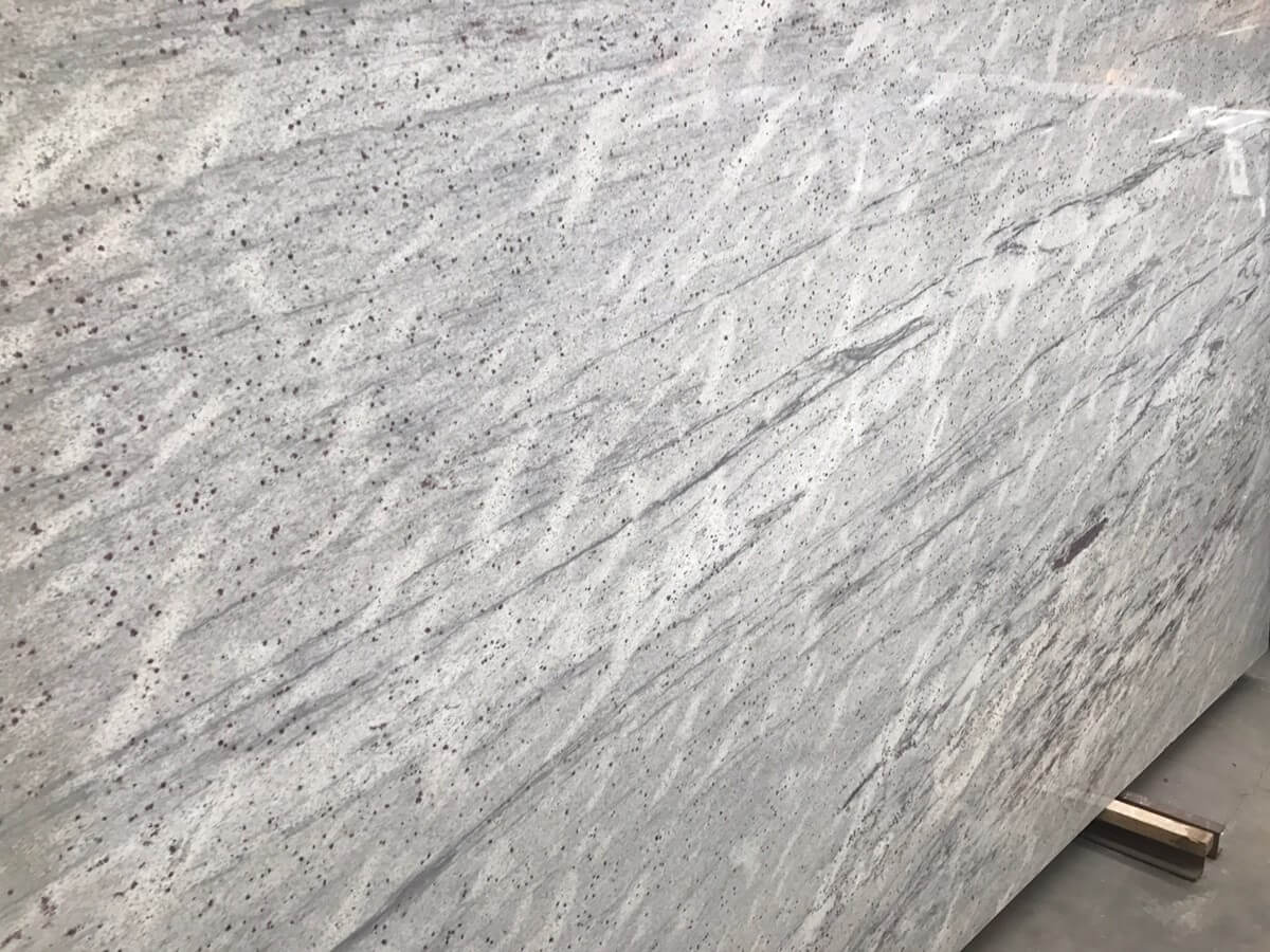 Thunder White Polished Granite Natural Stone Quantum Quartz