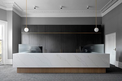 VENATINO STATUARIO QUARTZ - Christopher Elliott Design