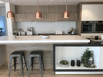 NEW DIAMOND WHITE & ARDESIA QUARTZ - Granvue Homes VIC