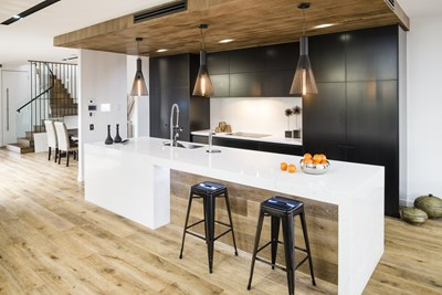BIANCO VENATO QUARTZ - Knight Building Group