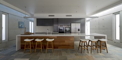 CARRARA QUARTZ - Jim Mullins Interior Architect