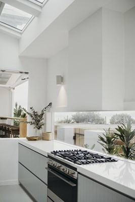 ALPINE WHITE - Salt At Shoal Bay; Bliss Kitchens & Joinery