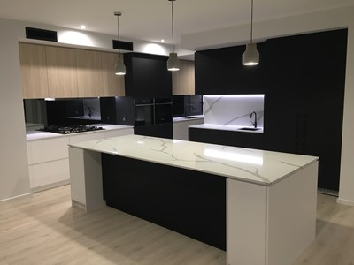 CALACUTTA PRIMO QUARTZ - Designer Living Kitchens QLD