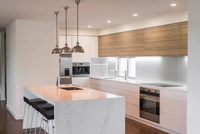 STATUARIO QUARTZ QUARTZ - GJ Morgan Kitchens