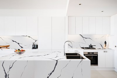 GRANDE STATUARIO QUARTZ - Rosemount Kitchens