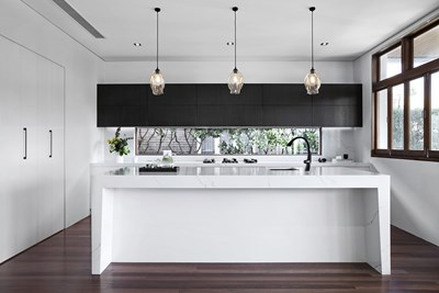 VENATINO STATUARIO QUARTZ - @a_desginerslife; Wonderful Kitchens