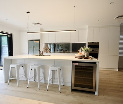 STATUARIO QUARTZ - Kitchens By Emanuel