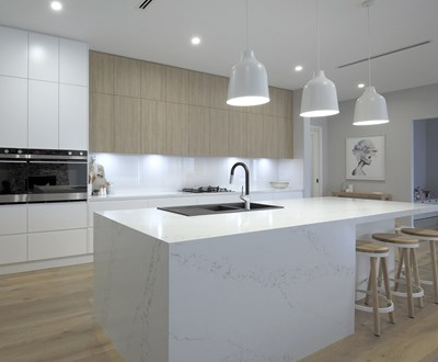 STATUARIO QUARTZ - Mii Kitchens