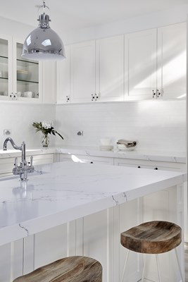 VENATINO STATUARIO QUARTZ - Wonderful Kitchens