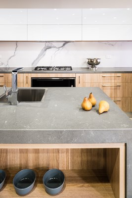 GRIS FUMA QUARTZ - Corfield Kitchens