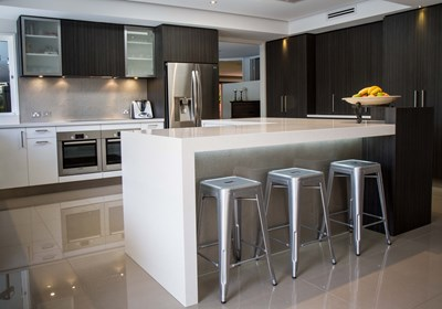 GALAXY WHITE - The Kitchen Design Centre