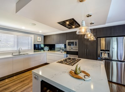 STATUARIO QUARTZ - Vogue Kitchens NSW