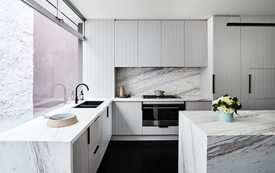 LILAC DAWN (Marble) - The Style School. Photo: James Geer