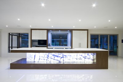 NEW YORK BACKLIT (Marble) - Katia Slogrove, Germancraft Cabinets