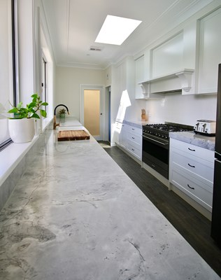 SUPER WHITE PREMIUM (Marble) - Kitchens By Emanuel